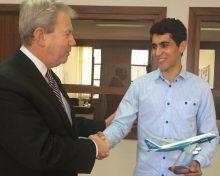 Business Leaders avec M. Dunn, Président de Boeing pour l'Afrique du Nord et la Turquie