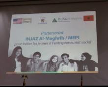 Conférence de presse INJAZ / MEPI