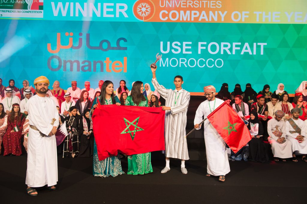 USE FORFAIT from Morocco won University Company of the Year