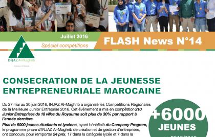FLASH News N°14 spéciale Compétitions Régionales 2016