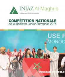 Plaquette de la Compétition Nationale de la Meilleure Junior Entreprise 2016