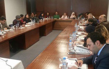 Meeting of Tangier volunteers