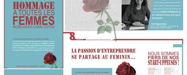La passion d'entreprendre se partage au féminin !