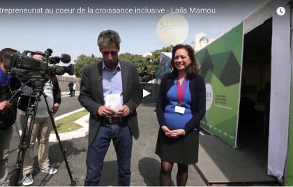 Interview de Mme Mamou sur la chaine Matin TV