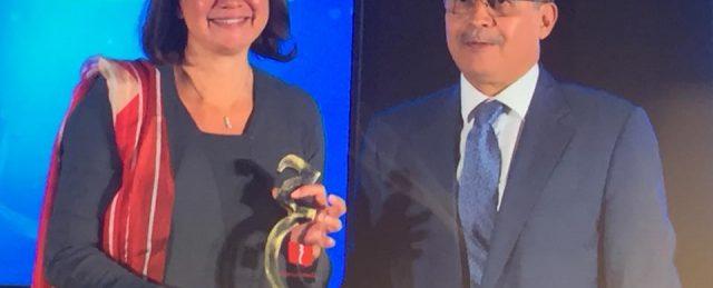 INJAZ Al-Maghrib remporte le prix du Branding 2017  du Morocco Awards