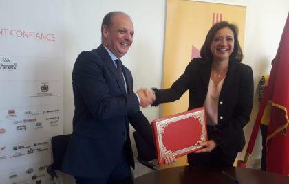 16 mai 2018 : Signature avec DHL EXPRESS MAROC